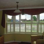 bay window cafe style shutters