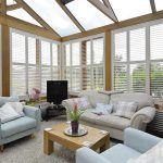 conservatory plantation shutters