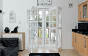 basswood door shutters