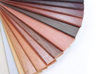 shutter wood stain colours
