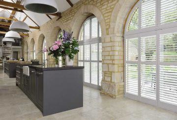kitchen-interior-design-with-special-shaped-window-shutters