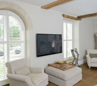 curved shape window shutter designs