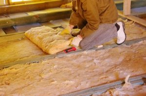 insulating the floor
