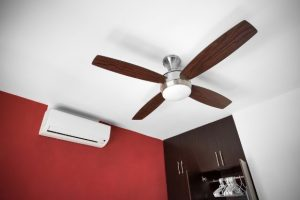 fan on ceiling